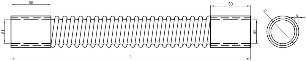 EPDM Flexible Radiator Hose